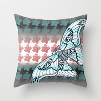 Fly Fancy Throw Pillow by Vikki Salmela | Society6