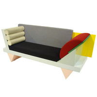 Big Sur Sofa-  Peter Shire- Memphis, Italy at 1stdibs