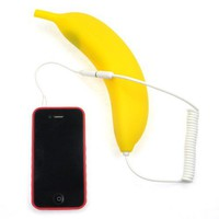 Cute Banana Radiation-proof Handset