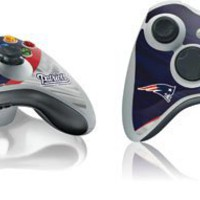 Skinit New England Patriots Vinyl Skin for 1 Microsoft Xbox 360 Wireless Controller