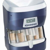 Digital ultra sorter motorized money coin sorter bank