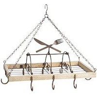 Product Details - Cutlery Hanging Pot Rack