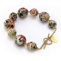 Florence Liberty Print Gem Bracelet | Dorus Mhor