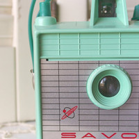 Vintage Savoy Camera in Mint Green FREE DOMESTIC by dulcinas