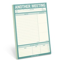 Another Meeting Note Pad - Whimsical & Unique Gift Ideas for the Coolest Gift Givers