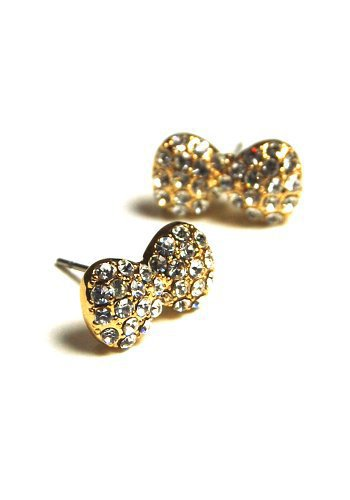 Sparkle Bow Earrings