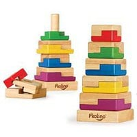 Square Puzzle Stacker by P'kolino
