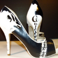 Audrey Hepburn High Heels by Splescia