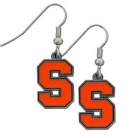 NCAA Syracuse Orange Dangle Earrings