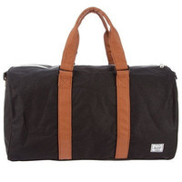 Herschel Supply Ravine Duffel Bag - Black & Tan by Herschel Supply Co | Maxton Men
