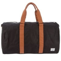 Herschel Supply Ravine Duffel Bag - Black & Tan - Herschel Ravine Duffel Bag- Black & Tan