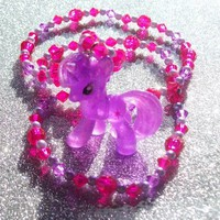 Glitter Twilight Sparkle Necklace from On Secret Wings