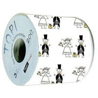 Amazon.com: One Roll of Wedding Print Toilet Paper: Everything Else