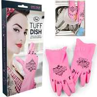 TUFF DISH RUBBER GLOVES