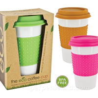 COLORFUL ECO CERAMIC COFFEE CUP