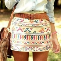 Tribal Skirt- FOLLOW AND ENJOY!