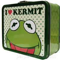 I LOVE KERMIT LUNCH BOX