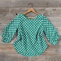 Lucky Horse Blouse, Sweet Country Inspired Clothing