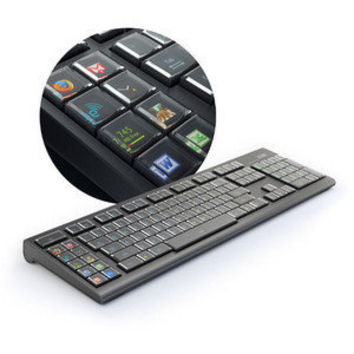 ThinkGeek :: Optimus Maximus Keyboard