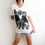The Beatles Abbey Road UK Classic Rock White by TheRockerShop
