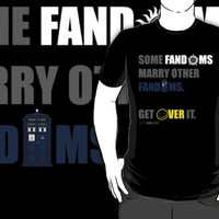 Some Fandoms Marry Other Fandoms - SuperWhoLock iPhone & iPod Cases