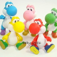 5 Color Yoshi Figure Set ~Super Mario Characters Figure Collection 3 ~