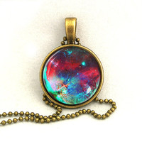 10% SALE Necklace Cute Galaxy Jewelry Space Universe Pendant Necklaces,Constellation,Gift For Her