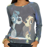 Lady Tramp Sublimation Sweatshirt | Shop Just Arrived at Wet Seal