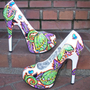 -Venus Fly Trap High Heels 