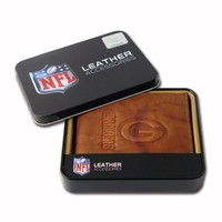 Rico Green Bay Packers Team Embossed Billfold Wallet