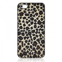 Leopard Print Embossment iPhone 5 Case
