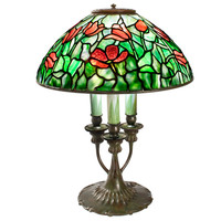 """Tulip"" Tiffany Lamp at 1stdibs"