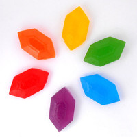 Rupee Soaps - Set of 3 - Great Stocking Stuffer/Party Favor for Legend of Zelda fan