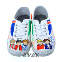 One Direction Shoes - Hand Painted