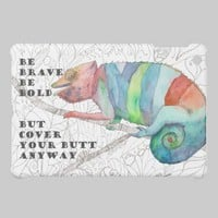 Brave Chameleon iPad Mini Covers from Zazzle.com