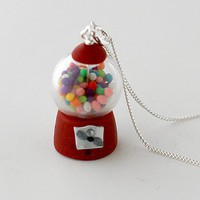 ShanaLogic.com - 100% Handmade & Independent Design! Gumball Machine Necklace - Yummy Goods