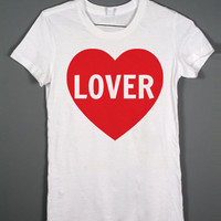 Lover - White T-shirt - One Direction