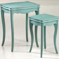 Ashley Painted Nesting Tables - Flush - Wall Sconce - Bathroom Lighting - Bathroom - Bedroom Lighting - Wall Lighting | HomeDecorators.com