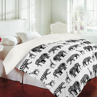 DENY Designs Home Accessories | Sharon Turner Graphic Zoo Duvet Cover