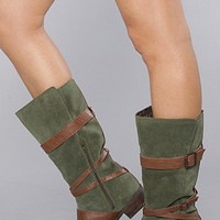 The Thesaurus Boot in Olive : BC Shoes : Karmaloop.com - Global Concrete Culture