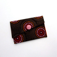 Business Card Case,  Business Card Holder, Fabric Wallet, Anna Maria Horner
