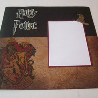 Harry Potter scrapbook pages by StrictlyCute on Etsy