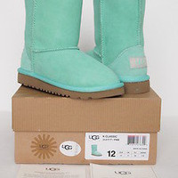 Mint Green Short Classic Uggs