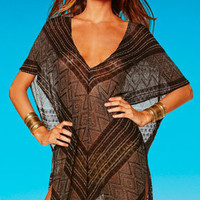 Diamond Crochet Beachwear and Coverups by Vitamin A Gold 2012 Swimwear | Swimwear Boutique