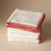 OASIS ORGANIC COTTON WASHCLOTH, SET OF 4 - Bath Accessories - Bed & Bath - Furniture & Decor | Robert Redford's Sundance Catalog