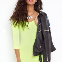 Day Glo Dress in What's New at Nasty Gal