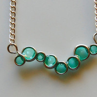 Charming Algae Necklace