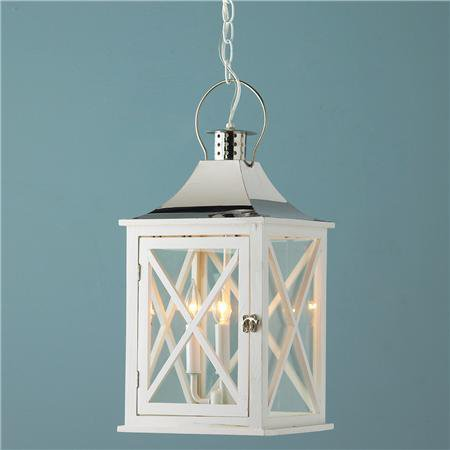 Hamptons Wooden Lantern 2 colors! - Shades of Light