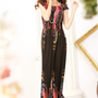 Holiday Girls Happiness Black Beach Long Dresses : Wholesaleclothing4u.com