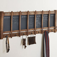 Daily Reminder Chalkboard & Shelf - Home & Garden - New - NapaStyle